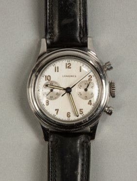 Longines Wrist Chronograph Watch