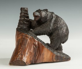 Chinese Carved Bear