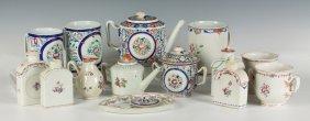 Chinese Export Teapots, Caddies & Mugs