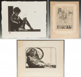 Aquatint, Engraving & Lithograph