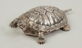 Tiffany & Co. Ny Sterling Silver Turtle Box