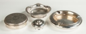 Four Tiffany Sterling Silver Items