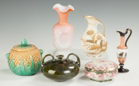 Group Of Various Vases