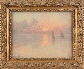 Jeanne Kollbrunner, Painting Of A Sunset Scene