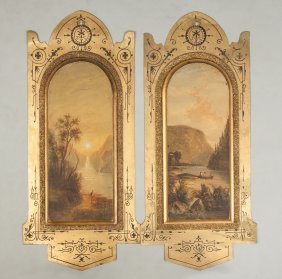 Victorian Painted Panels