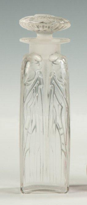 R. Lalique, France, Cologne Bottle