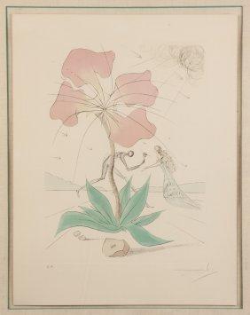 "Salvador Dali (spanish, 1904-1989) ""reuben"" (twelve"