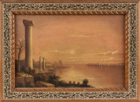 W. Bough Cox, Painting Of Ruins