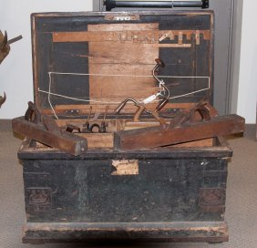 Collection Of 19th Cent. Tools & Tool Chest