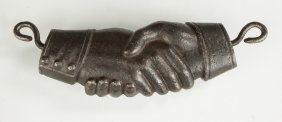 Cast Iron Hands For Gate Hook