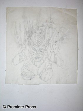 Captain Eo Costume Sketch
