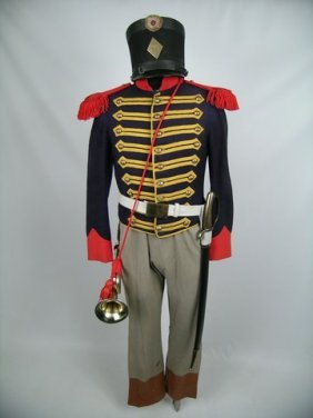 The Alamo Mexican Army Bugler Costume Lot 146