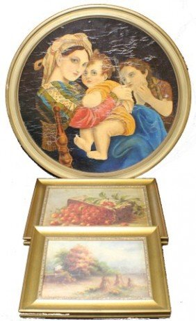 3 HOME DECORATIVE PAINTINGS