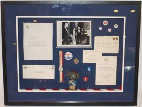 NIXON AND AGNEW POLITICAL MEMORABILIA COLLECTION