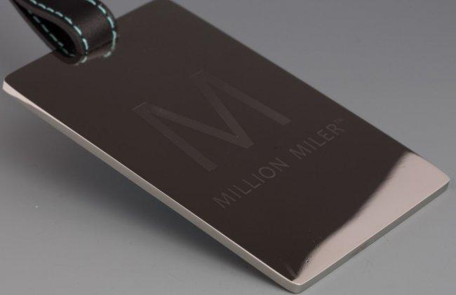 Tiffany Amp Co Delta Million Miler Luggage Tag Lot 40569