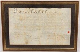 1775 Loaned Money Indenture