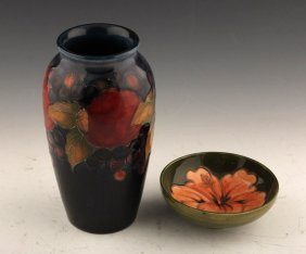 2 Pieces Of Moorcroft Pottery
