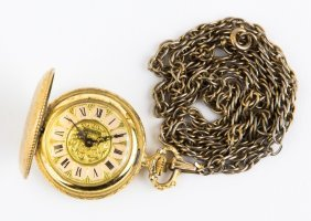 Buler Continental Costume Pocket Watch