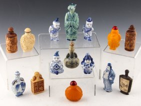 15 Chinese Snuff Bottles | Wood, Bone, And More