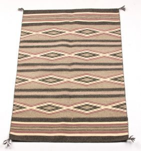 Native American Navajo Rug By Ella Yazzie