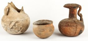 3 Native American Pottery | Anasazi Caddo