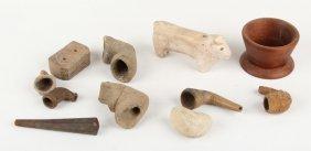 11 Native American Artifacts | Ceramic Wood Stone