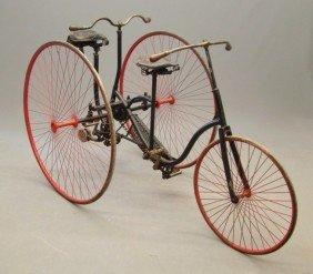 C. 1891 Columbia(?) Tandem Tricycle