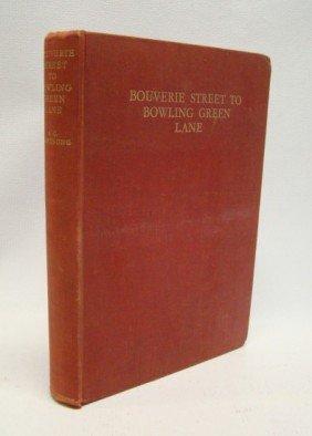 "Book: ""Bouverie Street To Bowling Green Lane"""