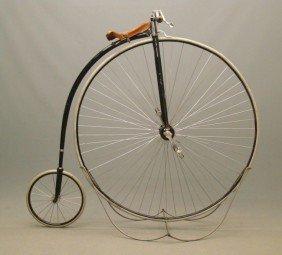 "C. 1886 53"" Columbia Expert Highwheel Bicycle"