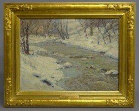 Painting Signed Gardner Symons
