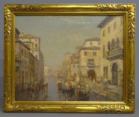 Painting Signed C. Muller