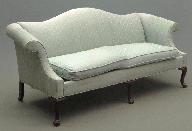 209 Ethan Allen Camelback Sofa Lot 209 : 134730121l from www.liveauctioneers.com size 650 x 443 jpeg 36kB