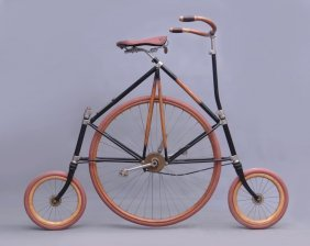 19th C. High Wheel Tricycle