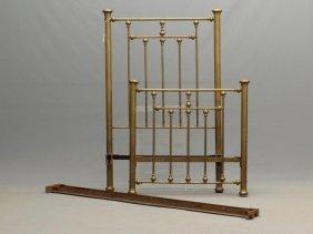 C. 1900's Brass Bed