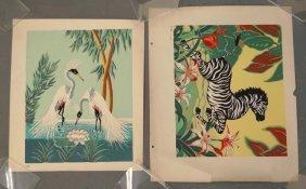 Vintage Silk Screens