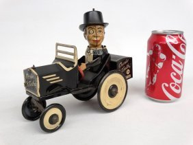 Charlie Mccarthy Tin Litho Toy