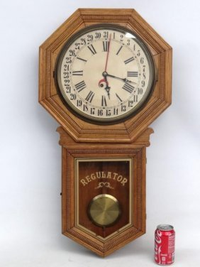 19th C. Wall Clock
