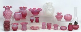 Cranberry Glass Lot
