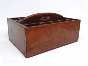Primitive Wooden Carrier
