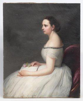 American School, Portrait Of A Lady