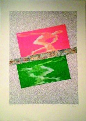 KOLAR JIRI  #11 (1914-2002) OLYMPIC, 1992 Lithograp