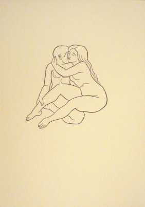 MAILLOL Aristide Woodcut In Black