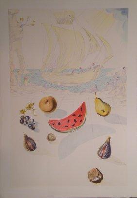 DALI Salvador Lithograph In Colour