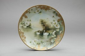 NIPPON HAND PAINTED PLAQUE