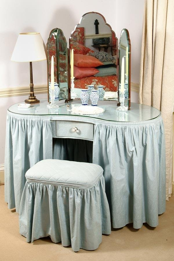 Vanity Chair With Skirt | American HWY