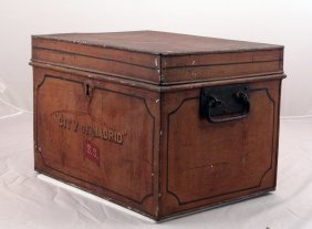 Early Document Box/ City Of Madrid