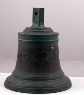 Bronze Bell From The Royal Charlotte.
