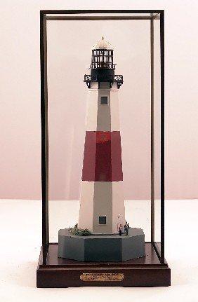Montauk Point Lighthouse Model.
