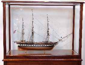 Magnificent Model Of The USS Constitution.