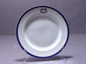 Flagship Corsair Luncheon Plate.